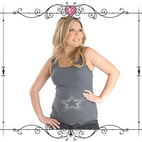 A Star is Born Maternity Top