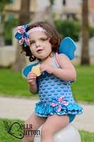 MERMAID Fairy Swimwear w/headband