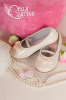 Cream Ballerinas