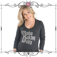 Babe Baking Baby Maternity Top