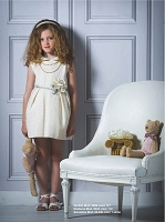 Barcarola Pearls & Cream Dress