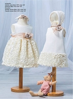 Blanco Baby Dress And Hat by Barcarola