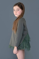 Klara Tutu Sweatshirt From Nueces