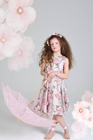 Floral Classy Dress From Little Wardrobe London