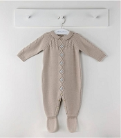 Boy knit overall