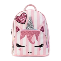 Unicorn Glitter Heart Backpack