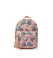 Unicorn motorbike mini backpack
