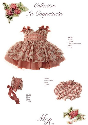 Shirley Dress With Ribbon From La Marquista Rial