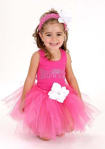 Little Girl Flower Tutu