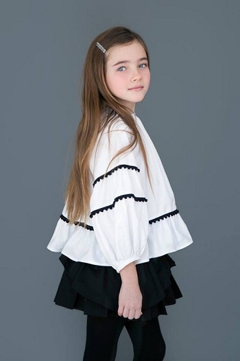 Pia Shirt White From Nueces