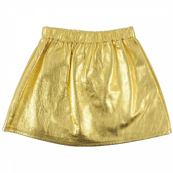 LOUD Gold skirt