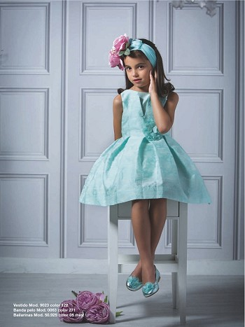 Barcarola Aqua Princess Dress